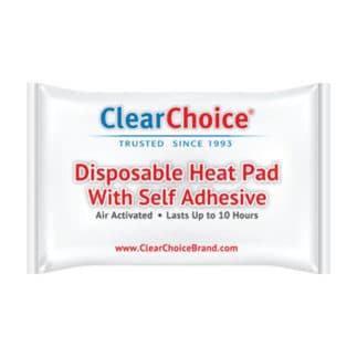 Disposable Heat Pad - Clear Choice