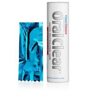 oral clear gum